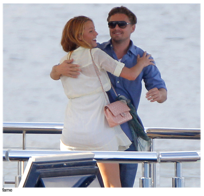Is Leonardo Dicaprio Rocking The Boat For Bar Refaeli In Touch Weekly