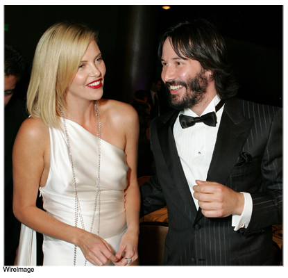 Charlize Theron And Keanu Reeves Heat Up! - In Touch Weekly