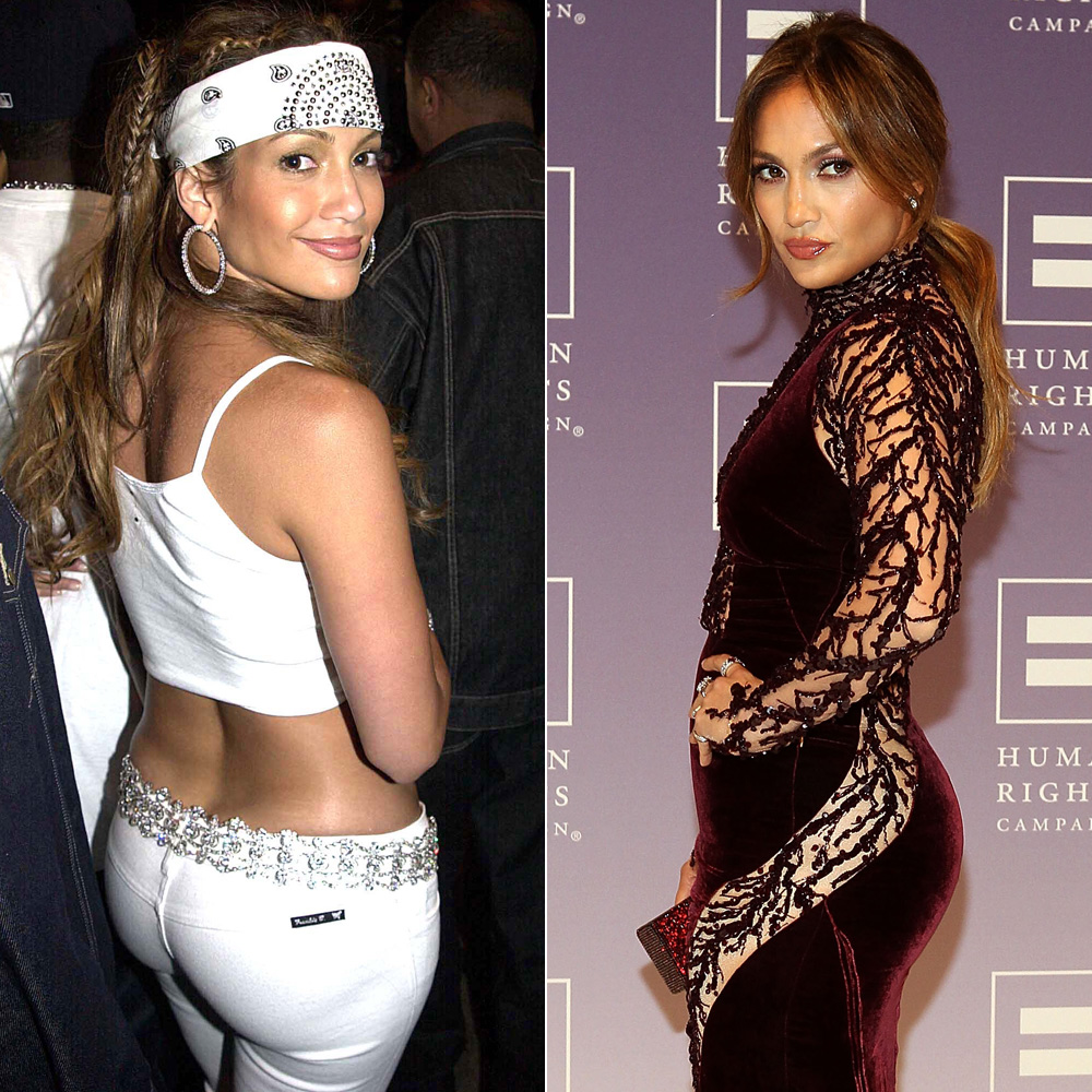 Jennifer Lopez Ass Pictures kim kardashian, jennifer lopez and more — are their butts