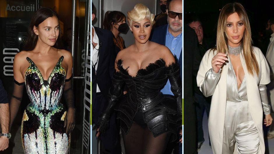 Paris Fashion Week Plunging Outfits