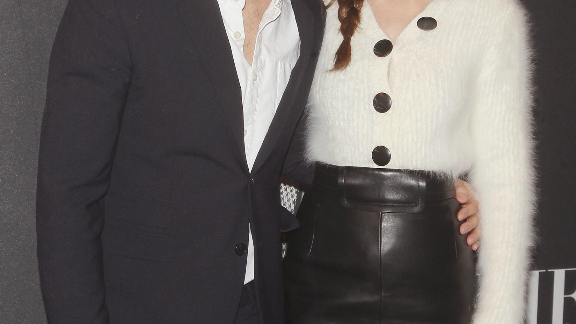 Fifty Shades of Grey Star Dakota Johnson Poses Fully