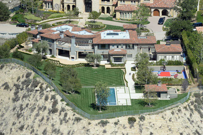 kourtney and scott house