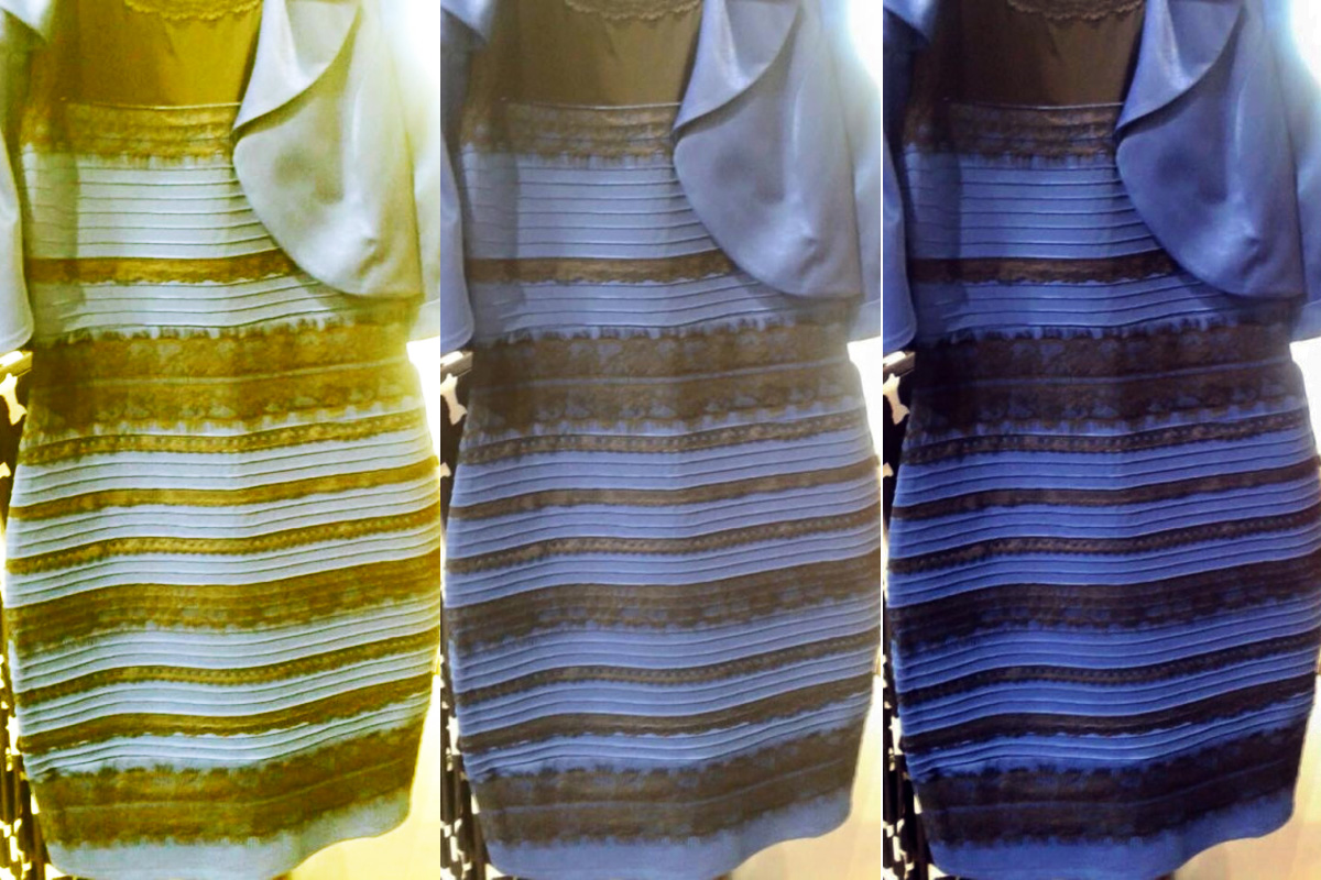 954ed992a1b5 Check Out The Black and Blue (Or Maybe White and Gold) Dress That Is  Destroying the Internet