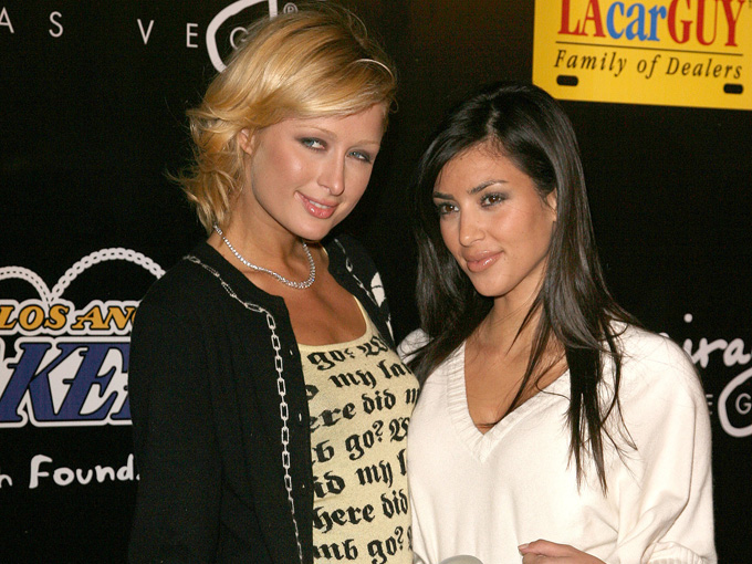 kim and paris