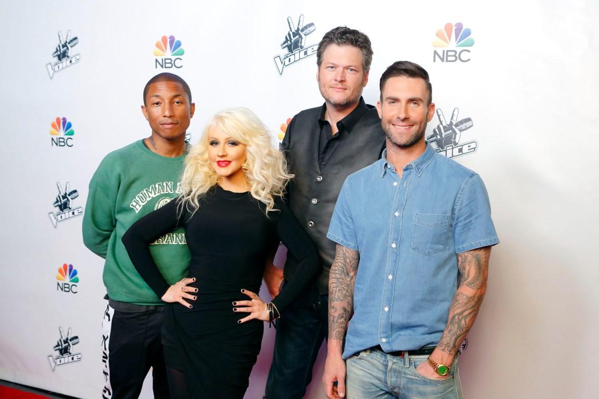 the voice season 8 cast