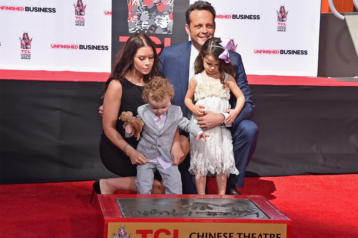 Vince vaughn family photos