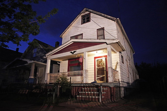 cleveland kidnapping house