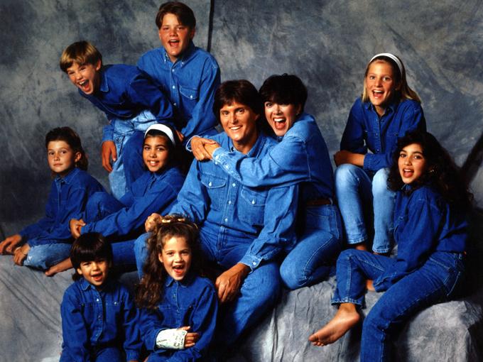 Jenner kardashian family photo