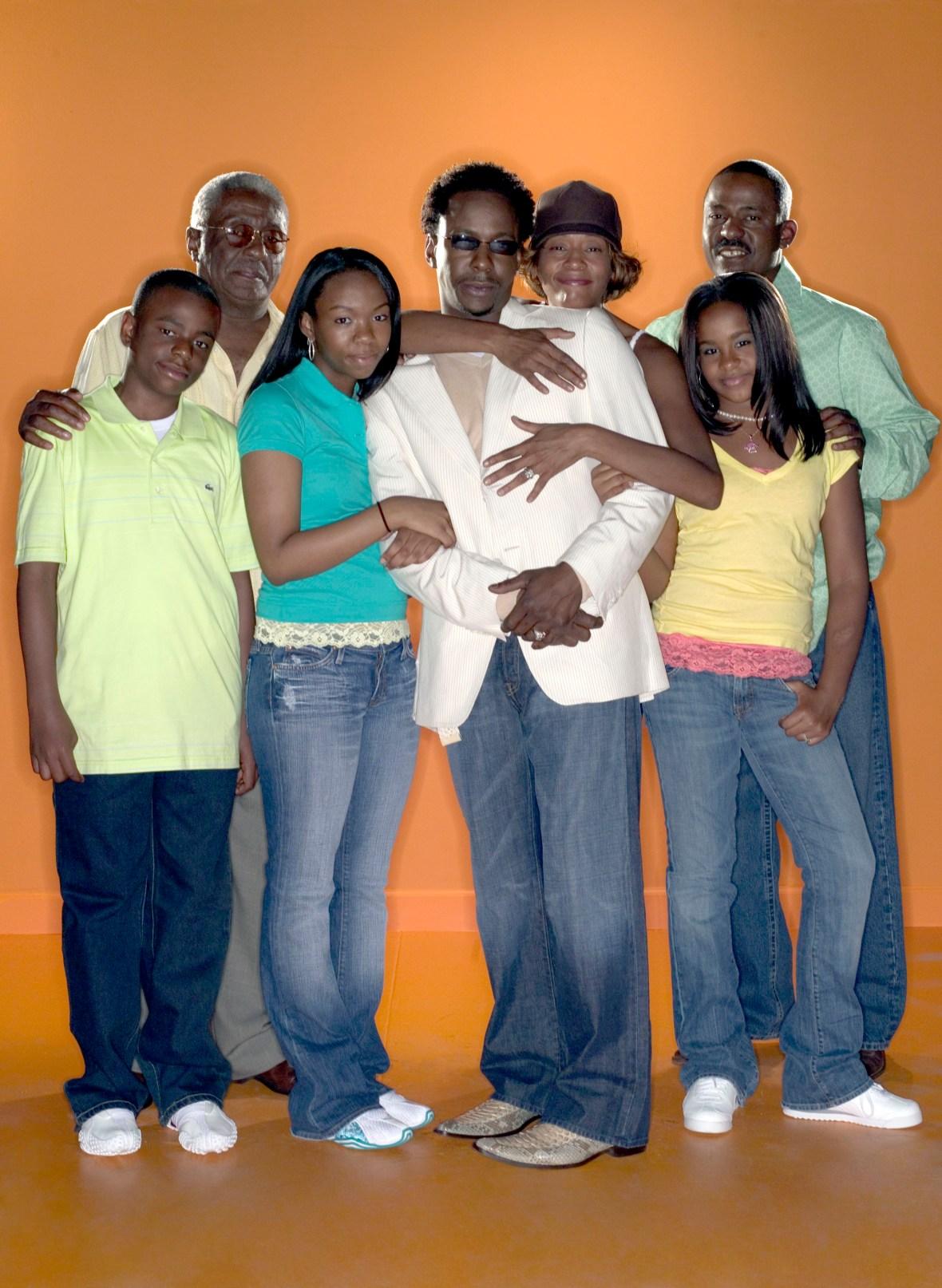 bobbi kristina brown family
