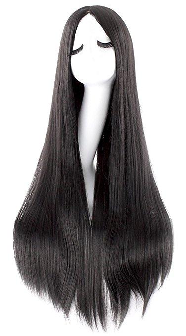 halloween 2017_itw - black wig