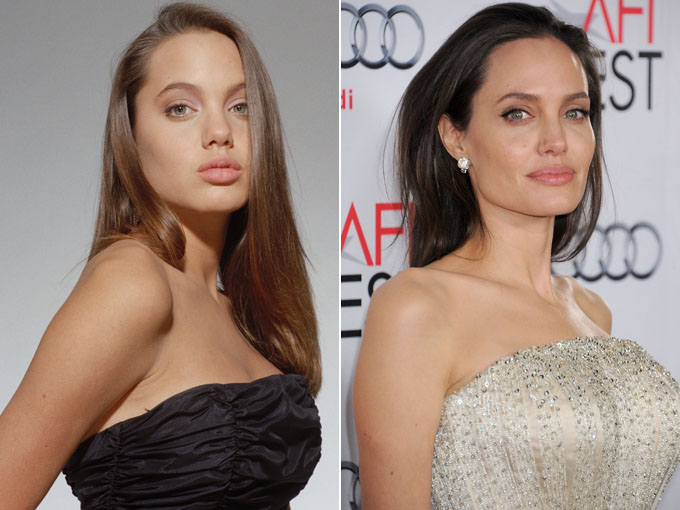 Did Angelina Jolie Get a Nose Job? - In Touch Weekly