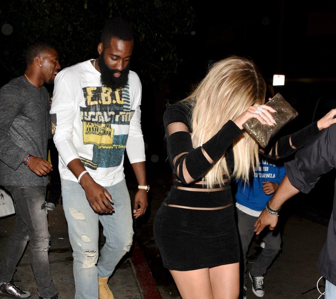 khloe kardashian and james harden