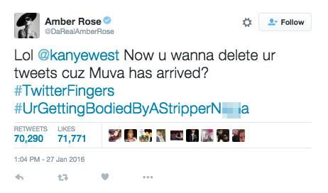 amber rose tweet