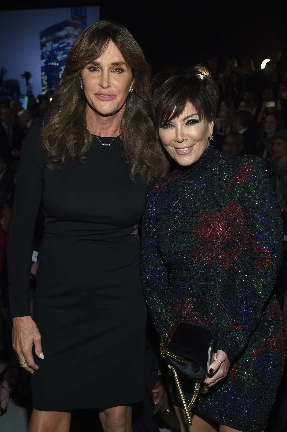 caitlyn jenner and kris jenner getty images