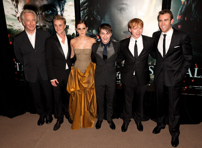 harry potter cast (photo credit: getty images)