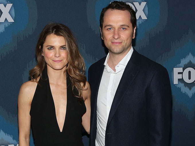 keri russell and matthew rhys (photo credit: getty images)