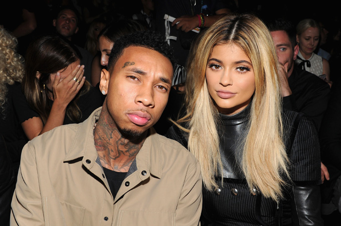 kylie and tyga (photo credit: getty images)