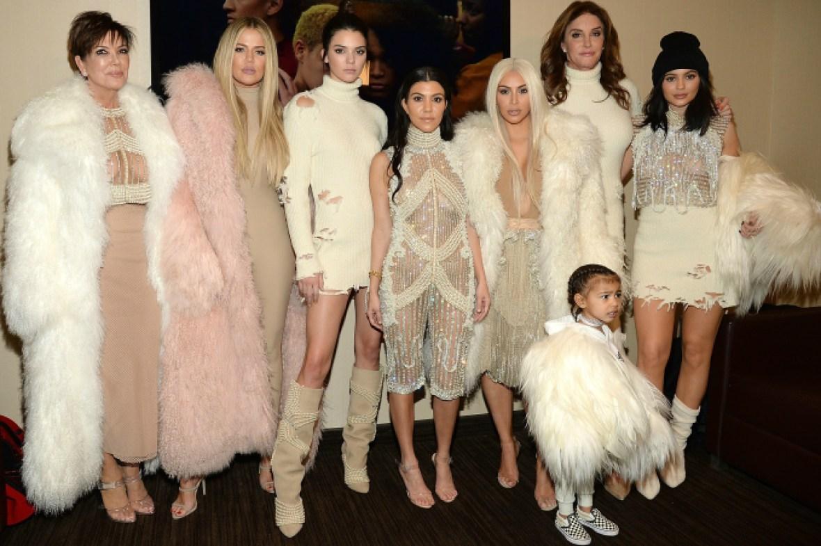kardashian jenner getty images