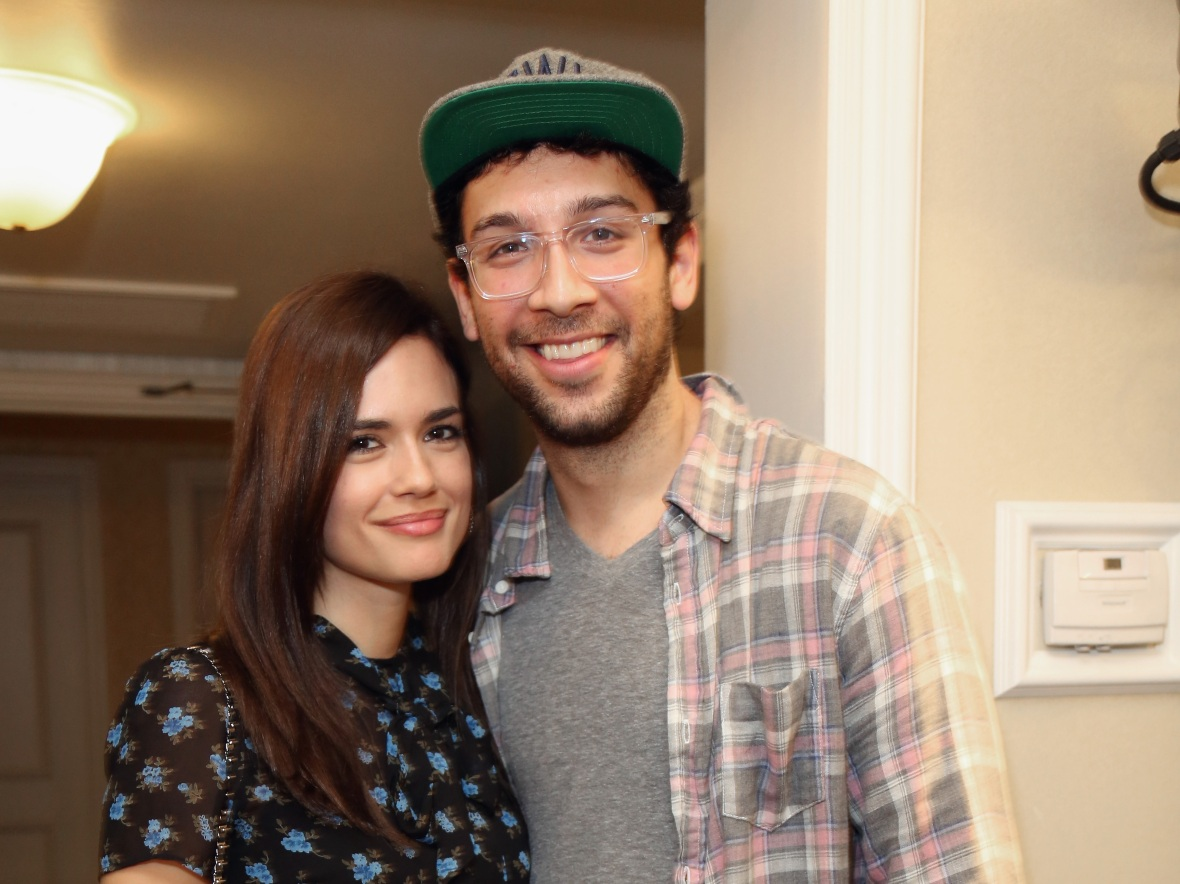 torrey devitto and rick glassman (getty images)