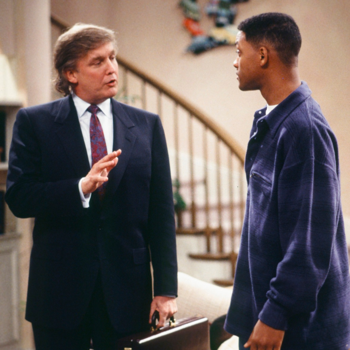 donald trump fresh prince of bel-air - getty