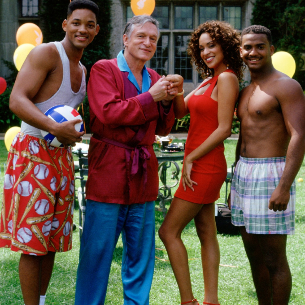 hugh hefner fresh prince of bel-air - getty