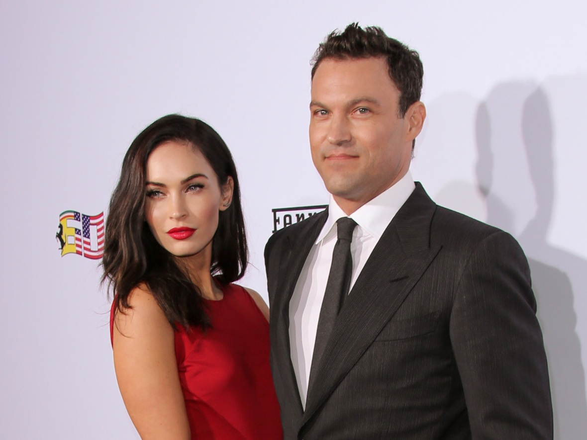 megan fox and brian austin green (getty images)