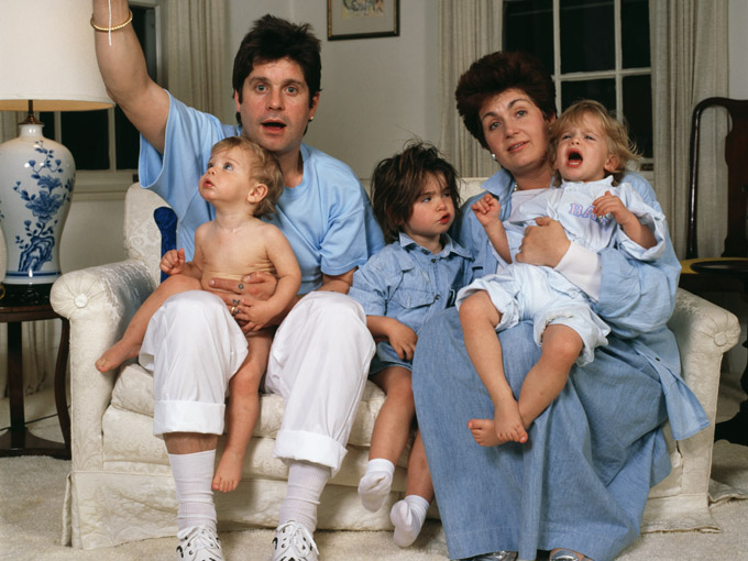 the osbournes getty images
