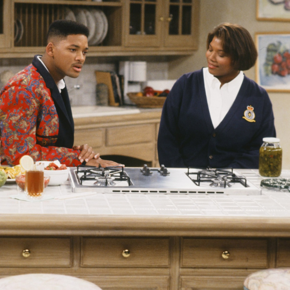 queen latifah fresh prince of bel-air - getty