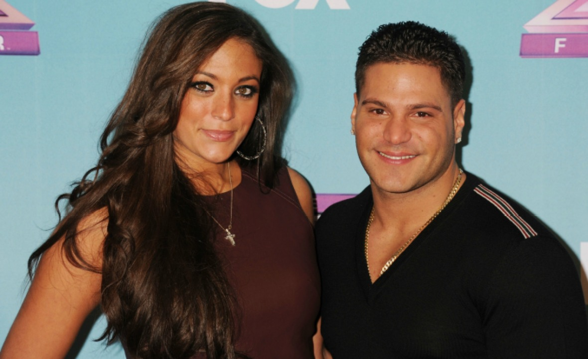"""ronnie ortiz-magro sammi """"sweetheart"""" giancola getty images"""