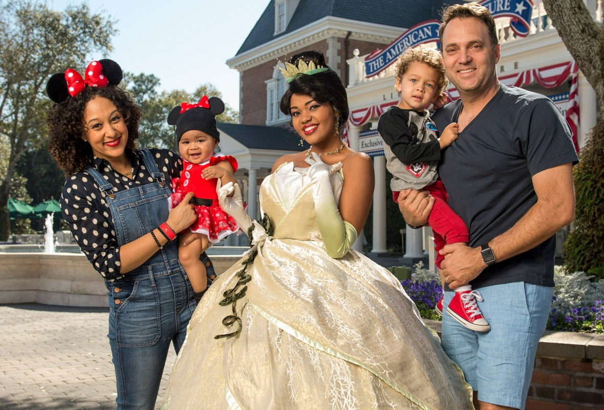 tamera mowry family getty images