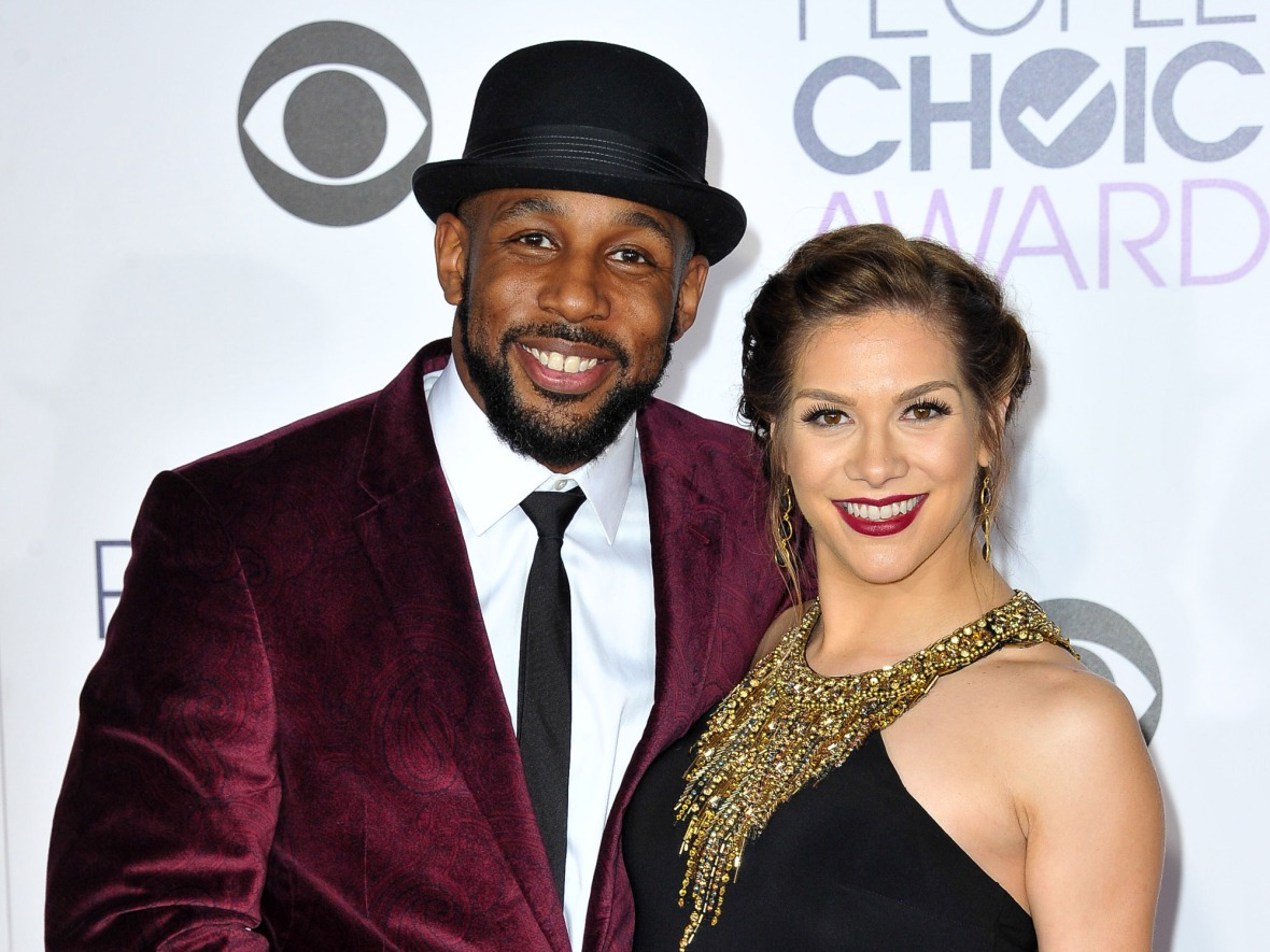 allison holker and twitch getty images