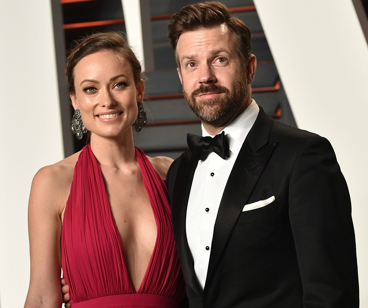 jason sudeikis olivia wilde getty images