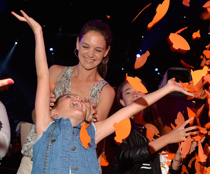 suri cruise and katie holmes getty images
