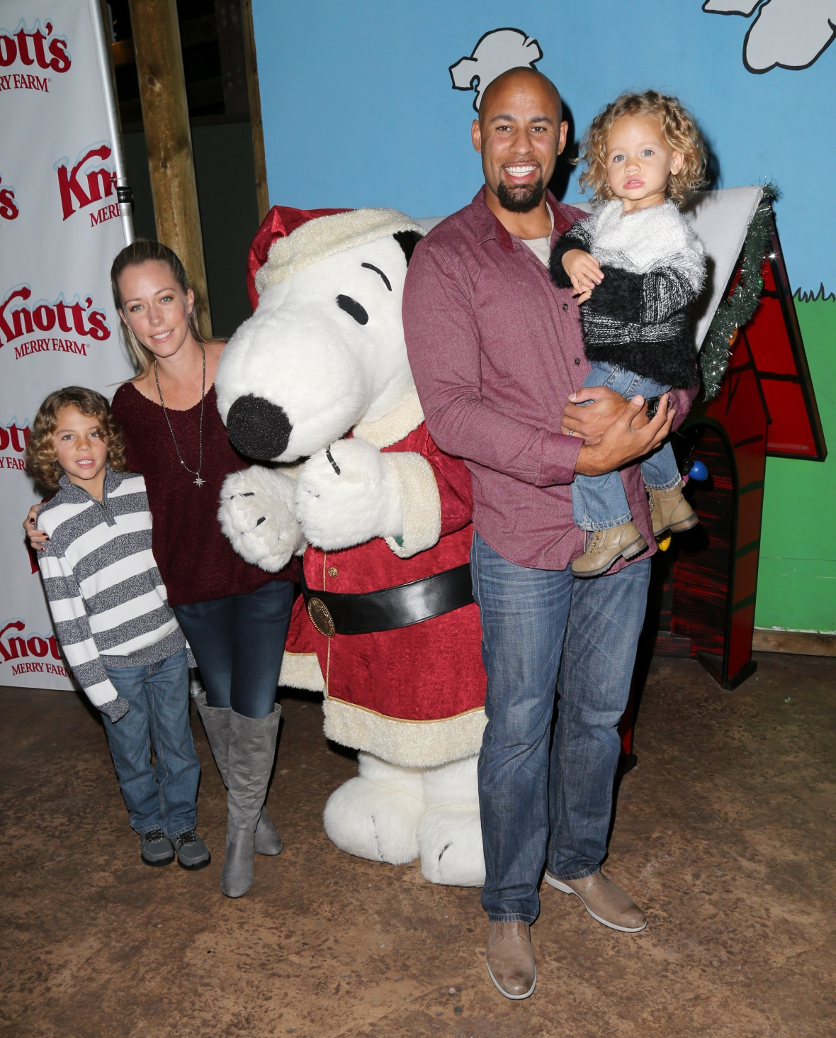 kendra and hank and two kids getty 2015