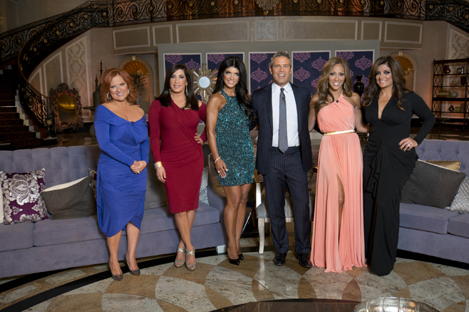 real housewives of new jersey getty images