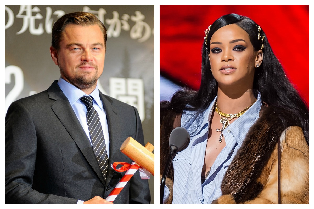 Rihanna and dicaprio dating