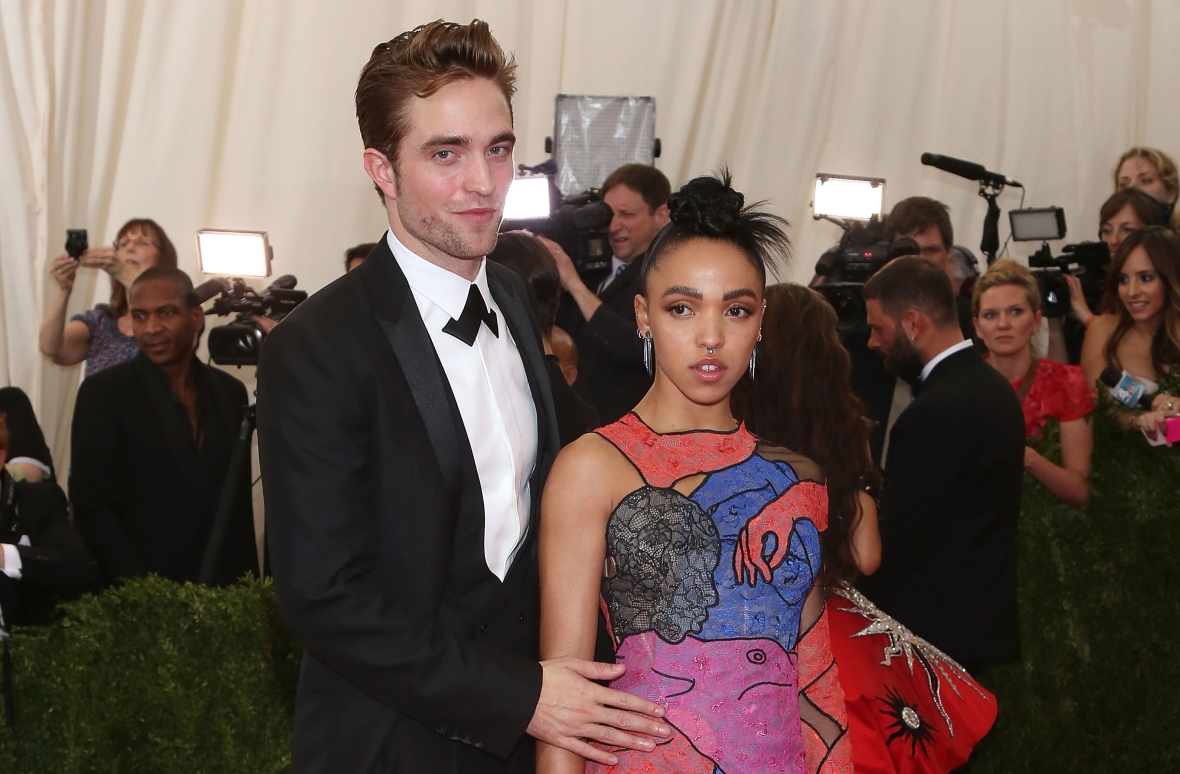 robert pattinson and fka twigs getty images