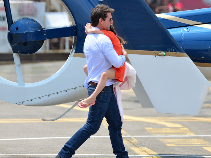 suri and tom cruise getty images