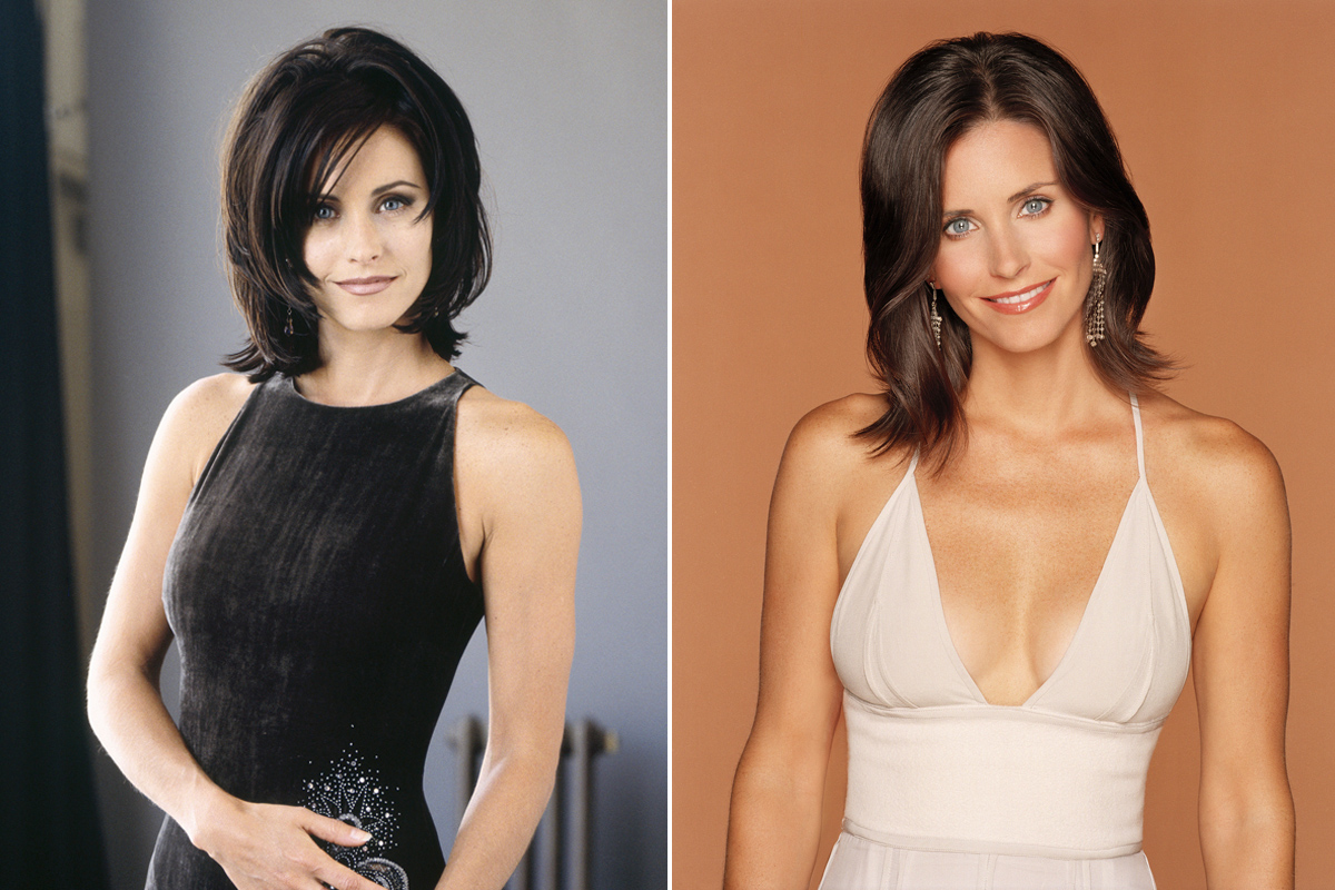 See The Evolution Of Monica Geller S Hair On Friends In Touch Weekly