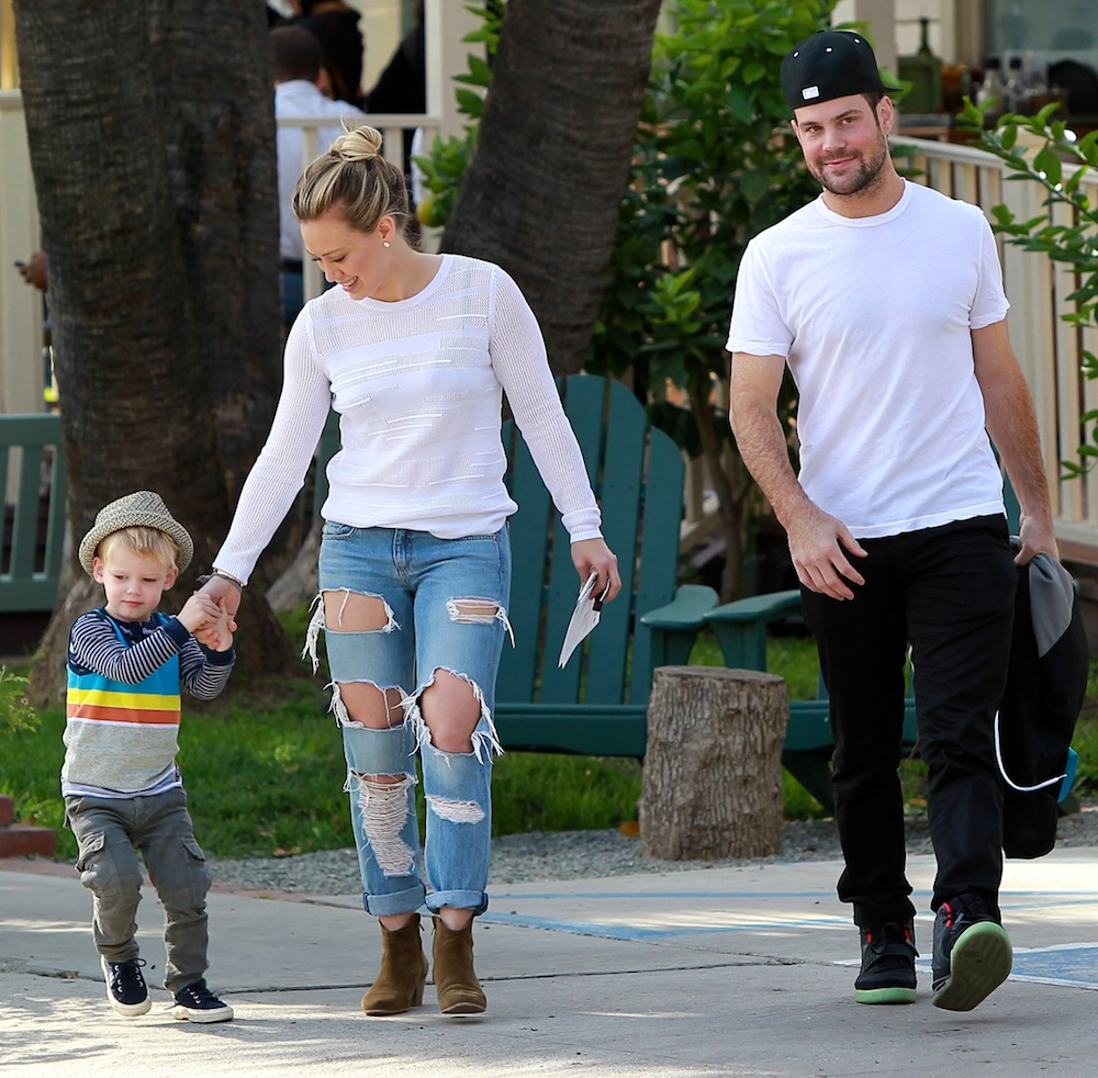 hilary duff mike comrie luca inf photo