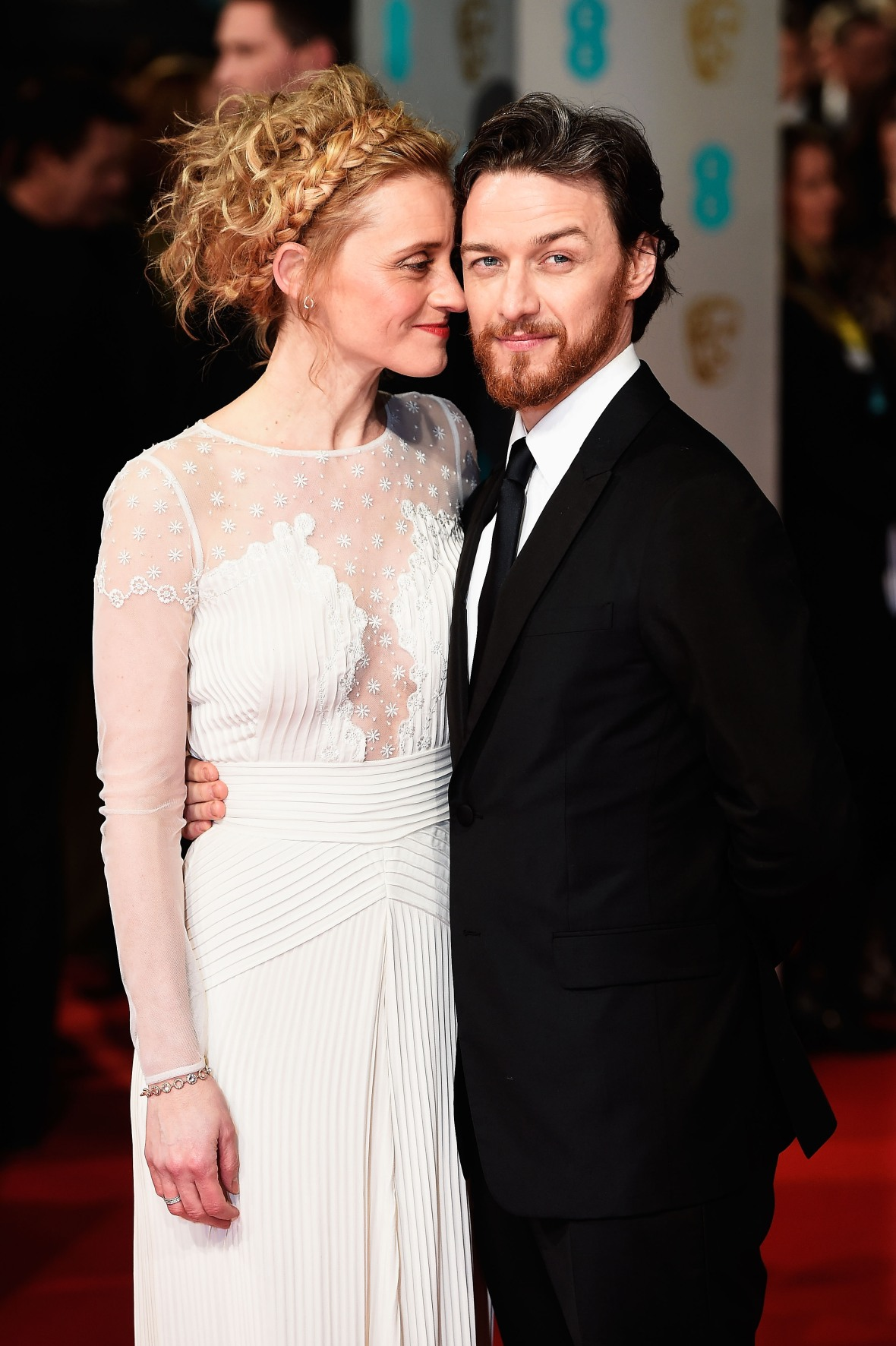 'X-Men' Star James McAvoy and Wife Anne-Marie Duff Are ...