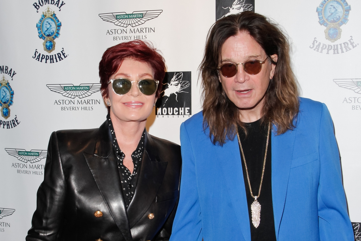 sharon and ozzy osbourne getty images