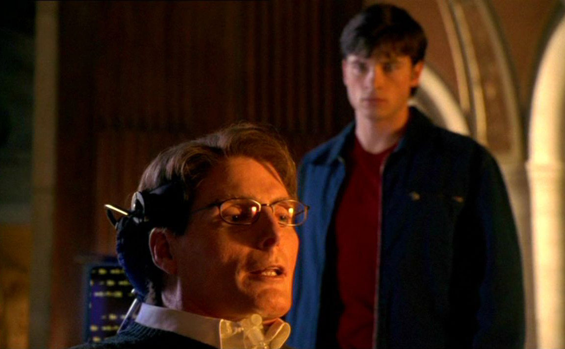 christopher reeve smallville