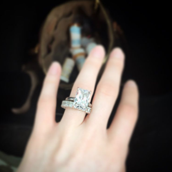 courtney stodden engagement ring instagram