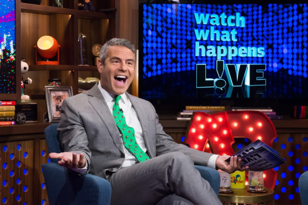 andy cohen getty images