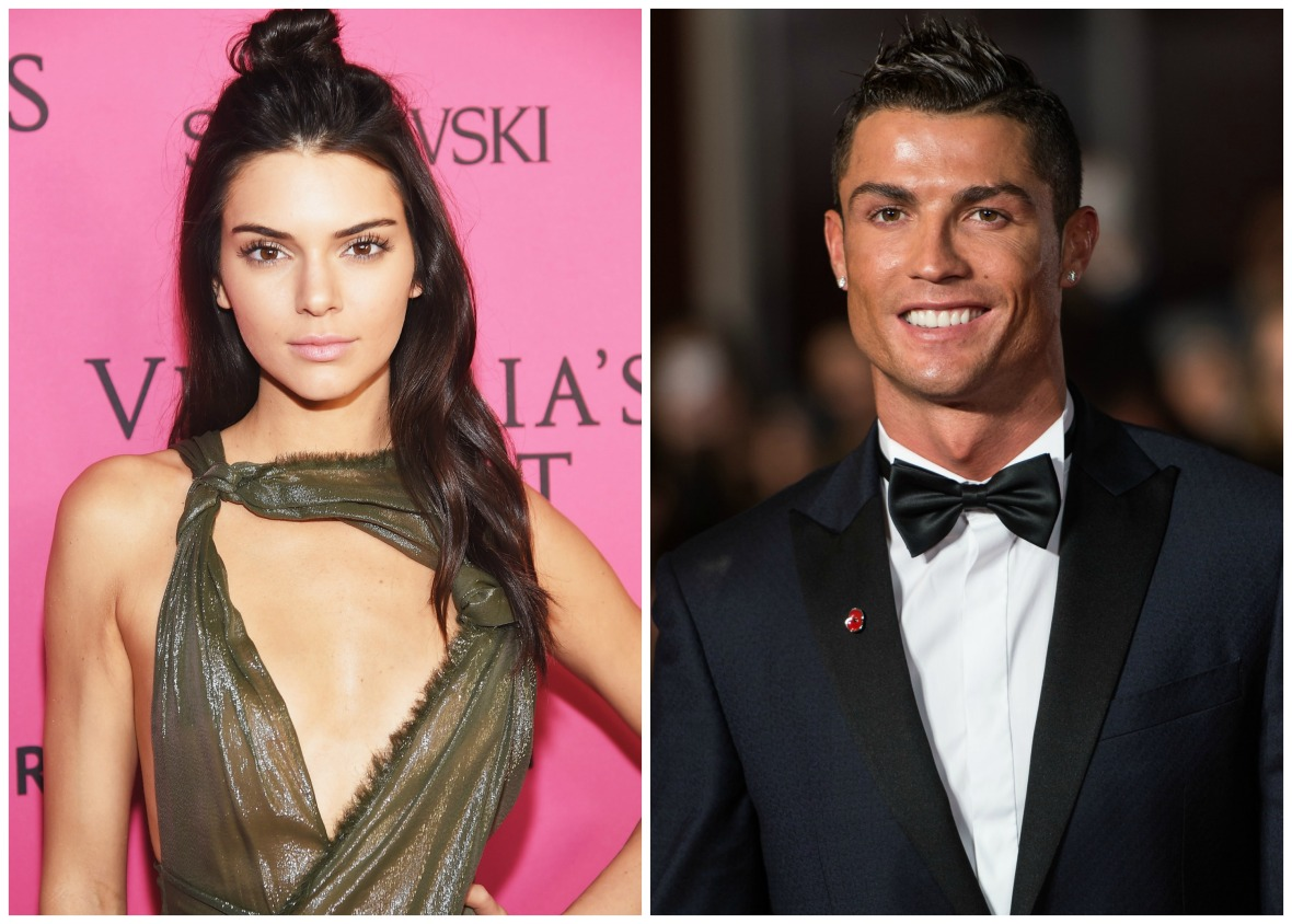 kendall jenner and christiano ronaldo