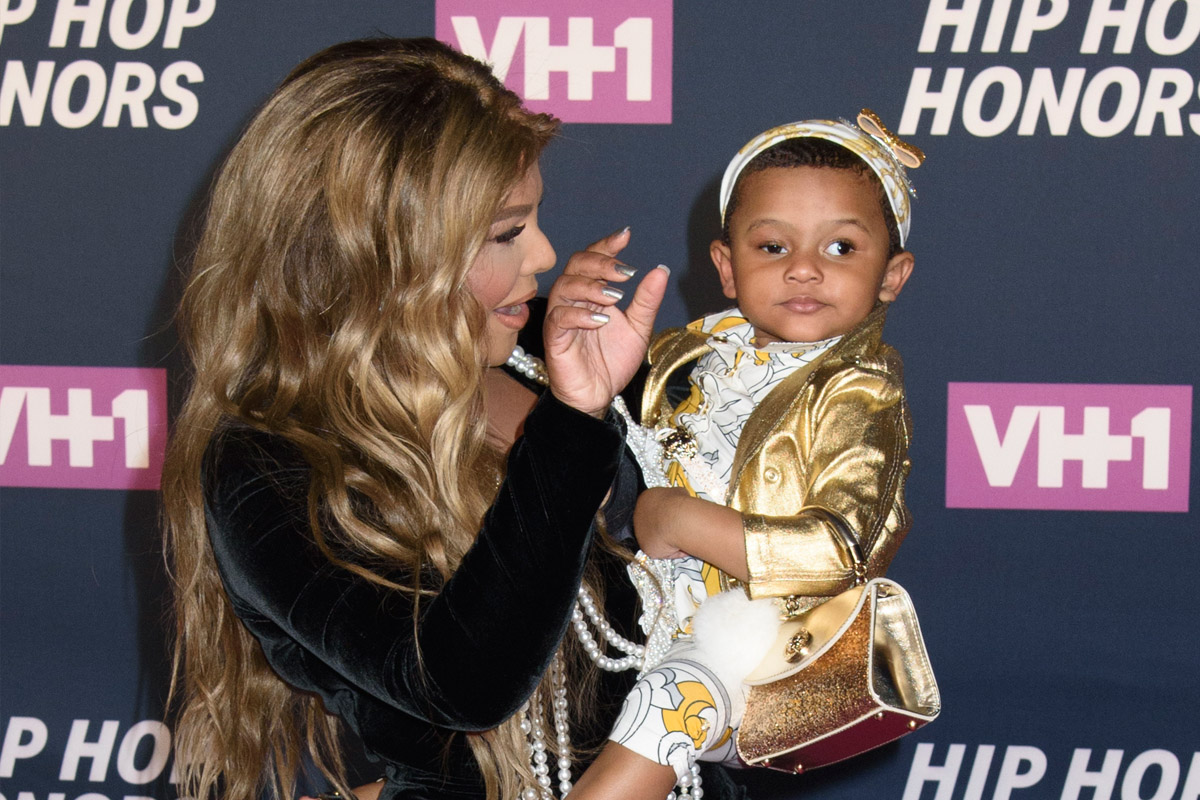 Lil Kim S Daughter Royal Reign Makes Her Red Carpet Debut See The Pics In Touch Weekly