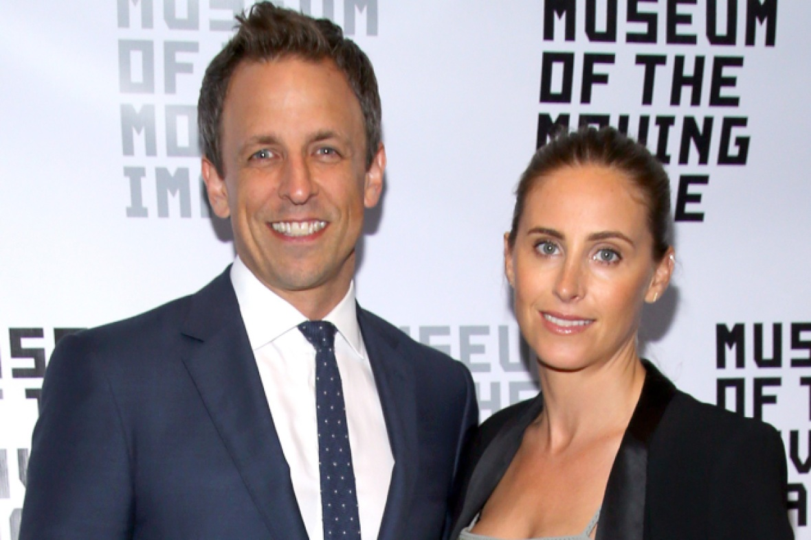 seth meyers alexi ashe getty images