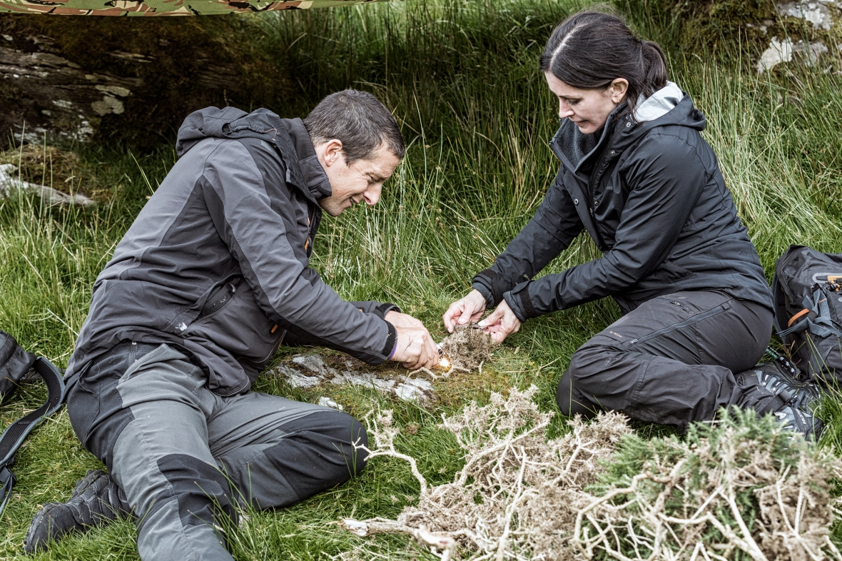 courteney cox bear grylls getty images