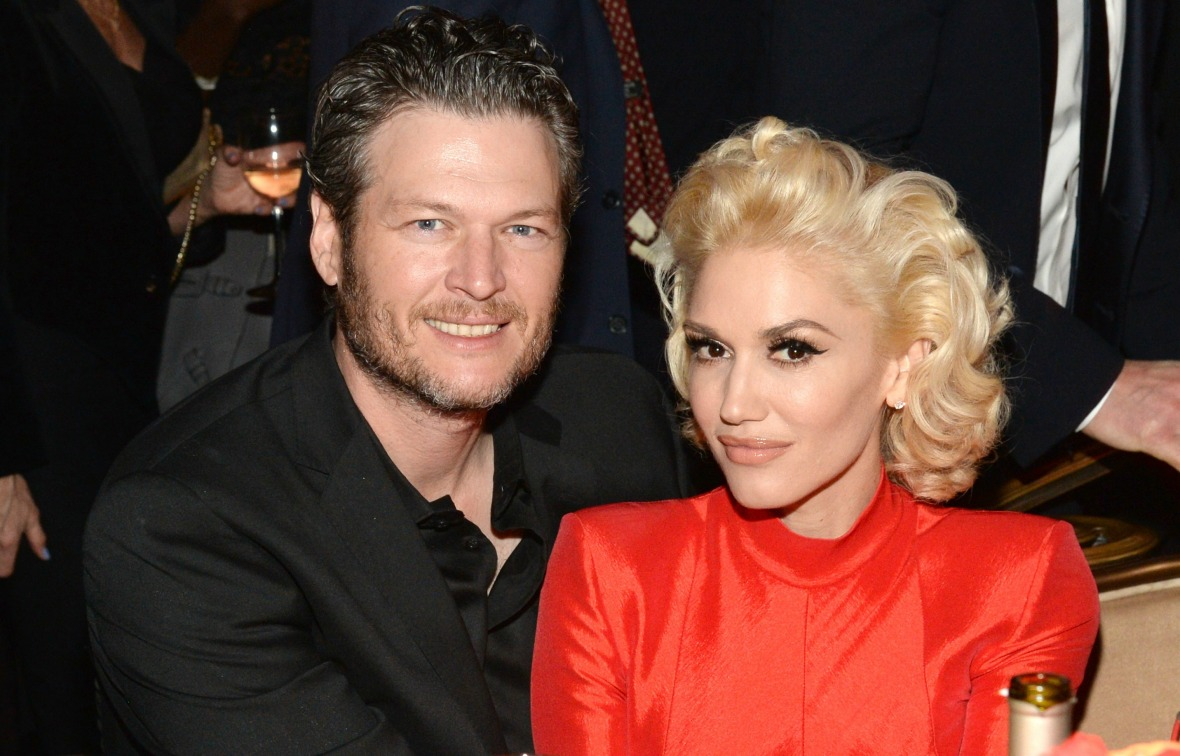 gwen stefani blake shelton getty images